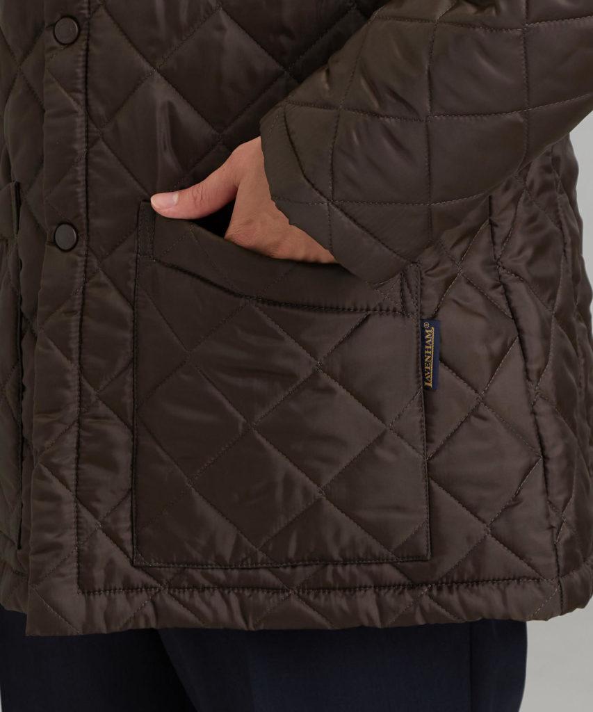 グリーンレーベルLAVENHAMジャケットポケット