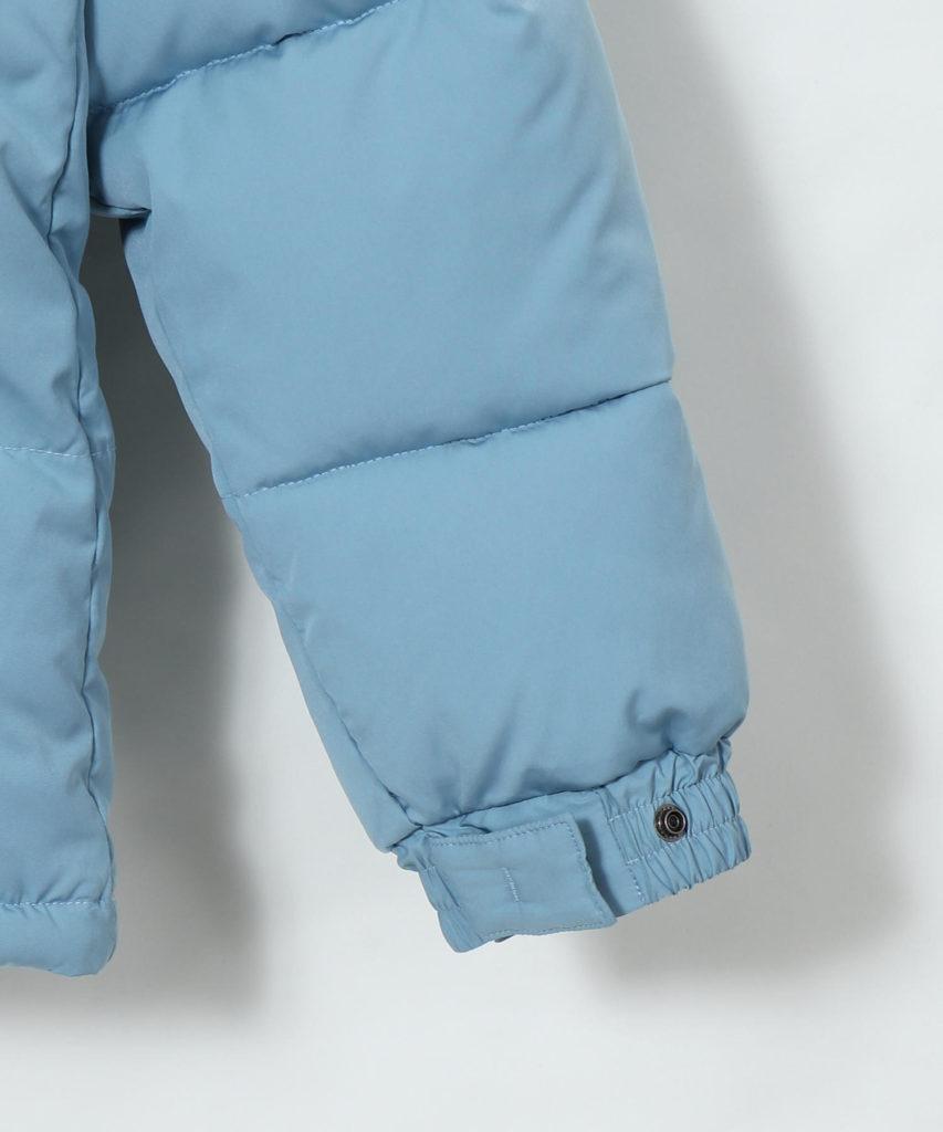 coen AIRCONPADスタンドカラージャケット袖口